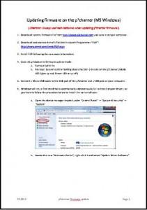 Anleitung Firmware Update